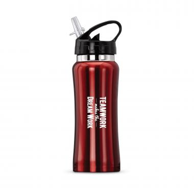 Teamwork Dream Work Flip-Top 16oz Water Bottle