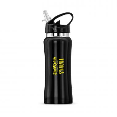 Thanks for Being Awesome Flip-Top 16oz Water Bottle