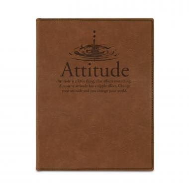 Attitude Drop Vegan Leather Padfolio