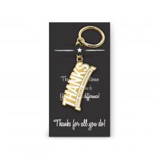 New Products - Thanks for Being Awesome Value Metal Keychain