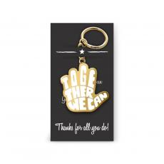 Keychains - Together We Can Value Metal Keychain