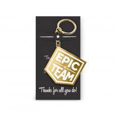 Keychains - Epic Team Value Metal Keychain
