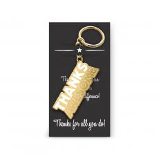 Keychains - Thanks Awesome Value Metal Keychain