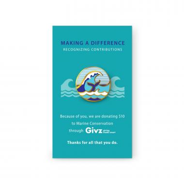 Marine Conservation Charity Lapel Pin