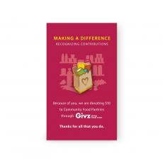 Lapel Pins - Community Food Pantries Charity Lapel Pin