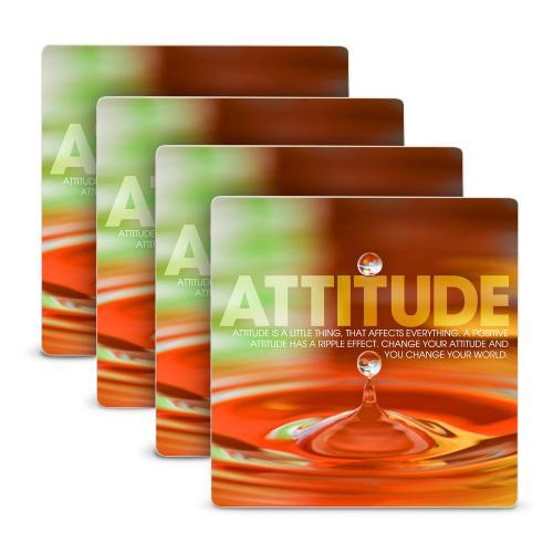 Attitude Drop Stone Coaster Set