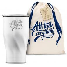 Vacuum Insulated - The Twisty - Attitude is Everything 16oz. Tumbler