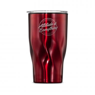 The Twisty - Attitude is Everything Circle 16oz. Tumbler