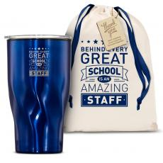 Vacuum Insulated - The Twisty - Behind Every Great School 16oz. Tumbler