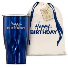 Vacuum Insulated - The Twisty - Happy Birthday 16oz. Tumbler