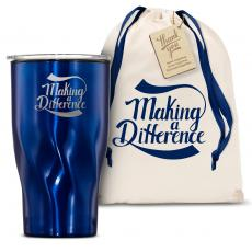 Vacuum Insulated - The Twisty - Making a Difference 16oz. Tumbler