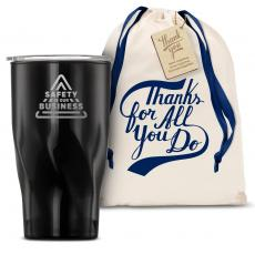 Vacuum Insulated - The Twisty - Safety is Our Business 16oz. Tumbler