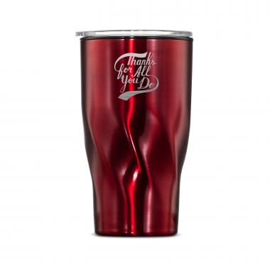 The Twisty - Thanks for All You Do 16oz. Tumbler
