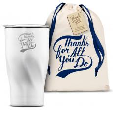 Vacuum Insulated - The Twisty - Thanks for All You Do 16oz. Tumbler