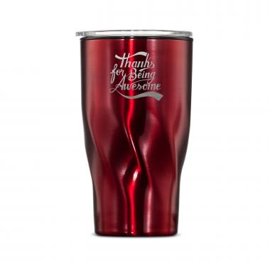 The Twisty - Thanks for Being Awesome 16oz. Tumbler