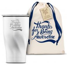 Vacuum Insulated - The Twisty - Thanks for Being Awesome 16oz. Tumbler