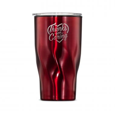 The Twisty - Thanks for Caring 16oz. Tumbler