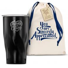 Vacuum Insulated - The Twisty - Thanks for Caring 16oz. Tumbler