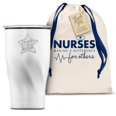 Vacuum Insulated - The Twisty - Thanks Nurse Star 16oz. Tumbler