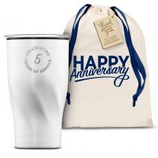 Vacuum Insulated - The Twisty - Years of Service 16oz. Tumbler