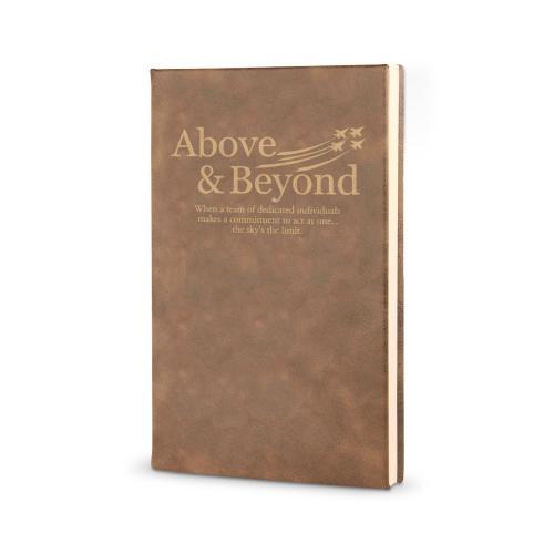 Above & Beyond Jets - Vegan Leather Journal