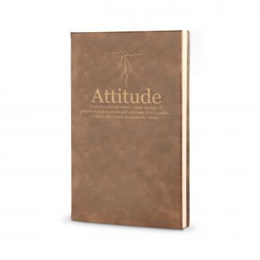Attitude Lightning - Vegan Leather Journal