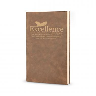 Excellence Eagle - Vegan Leather Journal