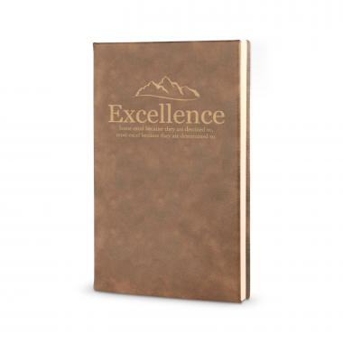 Excellence Mountain - Vegan Leather Journal