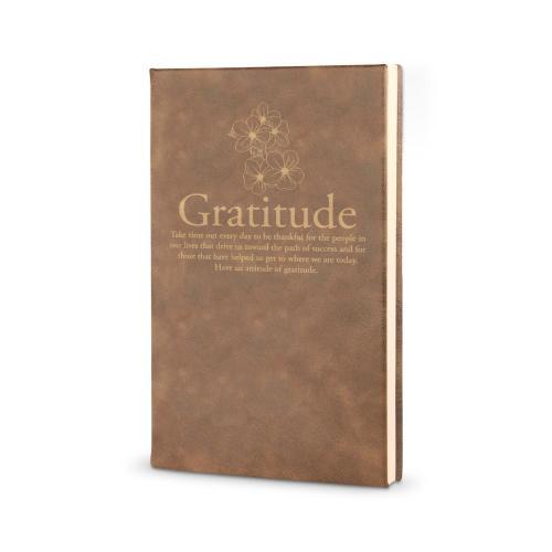 Gratitude Cherry Blossoms - Vegan Leather Journal