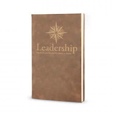 Leadership Compass - Vegan Leather Journal