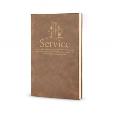 Service Waterfall - Vegan Leather Journal