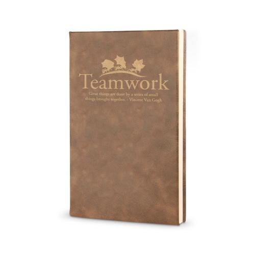 Teamwork Ants - Vegan Leather Journal