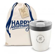 Vacuum Insulated - The Perk - Years of Service 8oz. Tumbler