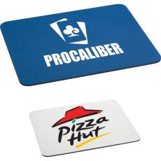 "Home & Family - 1/8"" rectangular rubber mouse pad"