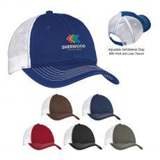 Headwear - District® Mesh Back Cap