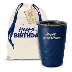 Fun Motivation & Gifts - The Geoform - Happy Birthday 12oz. Tumbler