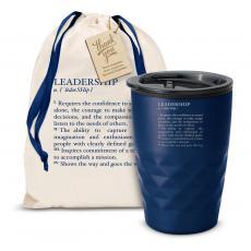 Vacuum Insulated - The Geoform - Leadership Definition 12oz. Tumbler