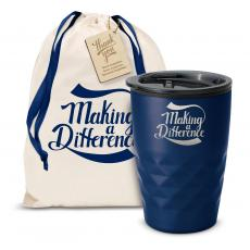 Fun Motivation & Gifts - The Geoform - Making a Difference 12oz. Tumbler