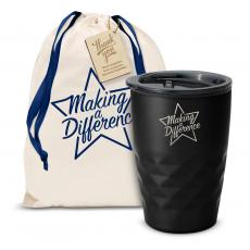 Vacuum Insulated - The Geoform - Making a Difference Star 12oz. Tumbler