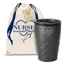 Fun Motivation & Gifts - The Geoform - Nurses Touch Hearts 12oz. Tumbler