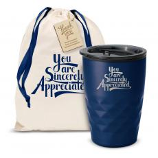 Vacuum Insulated - The Geoform - Sincerely Appreciated 12oz. Tumbler