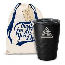 Vacuum Insulated - The Geoform - Safety is Our Business 12oz. Tumbler
