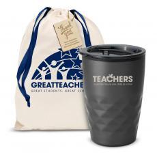 Fun Motivation & Gifts - The Geoform - Teachers Building Futures 12oz. Tumbler