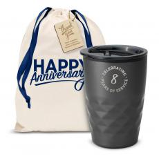 Vacuum Insulated - The Geoform - Years of Service 12oz. Tumbler