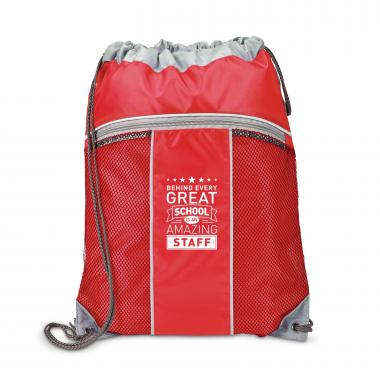 Behind Every Great School Breeze Cinch Bag