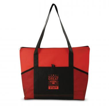 Behind Every Great School Transit Tote