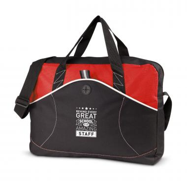 Behind Every Great School Tidal Messenger Bag