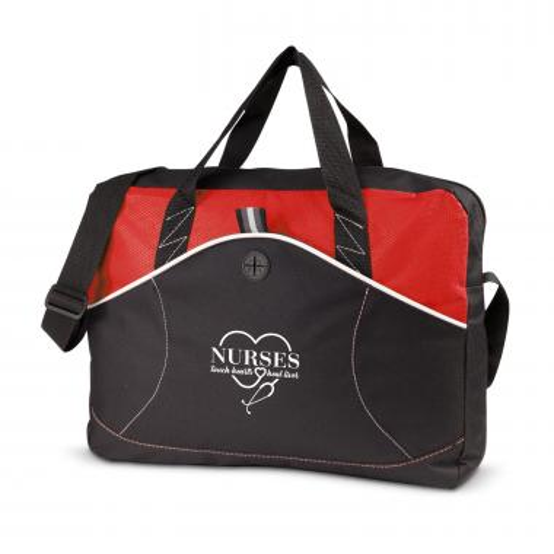 Nurses Touch Hearts Tidal Messenger Bag