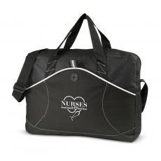 Staff Appreciation - Nurses Touch Hearts Tidal Messenger Bag