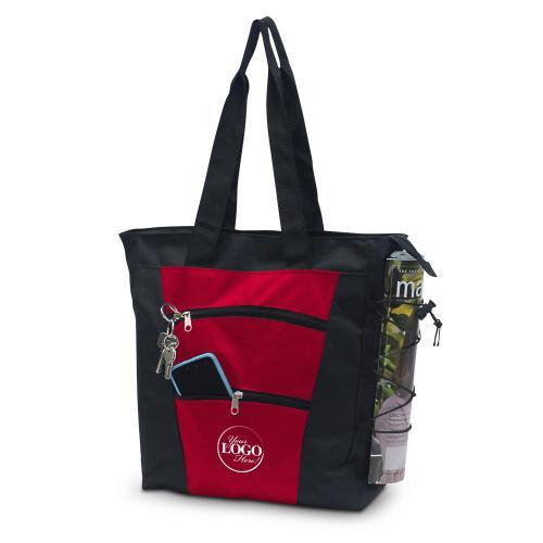 Custom Tiered Tote Bag